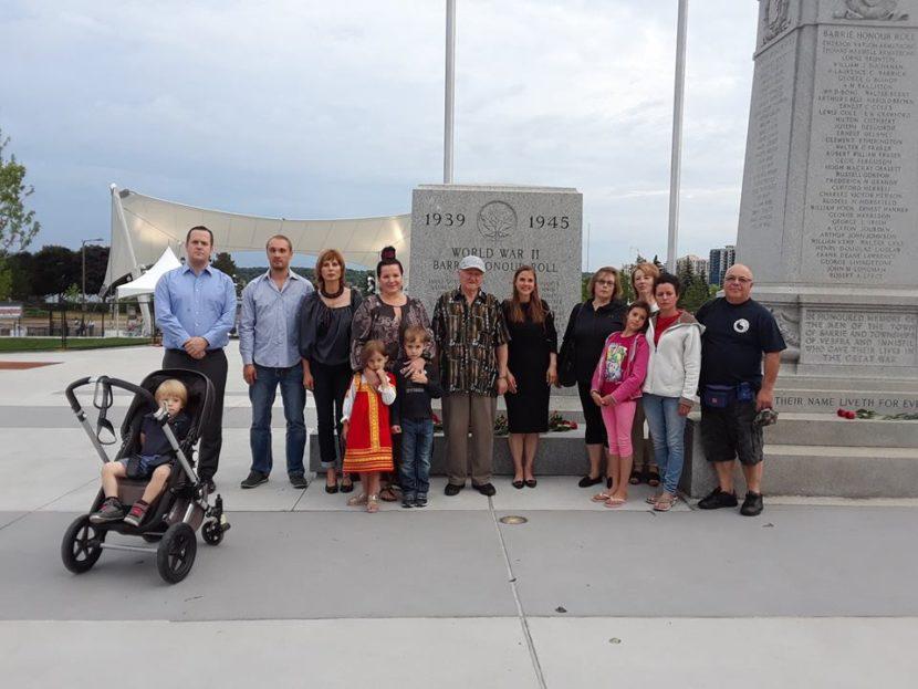 Акция «День памяти и скорби» прошла в Берри (Онтарио)