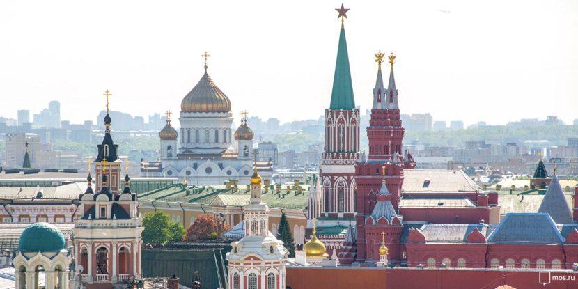 Красоты Москвы для гостей столицы