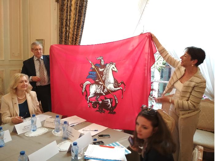 Делегация Правительства Москвы встретилась с соотечественниками в Брюсселе