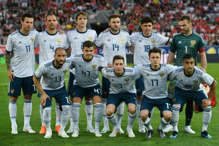 Долгожданная победа российской футбольной команды