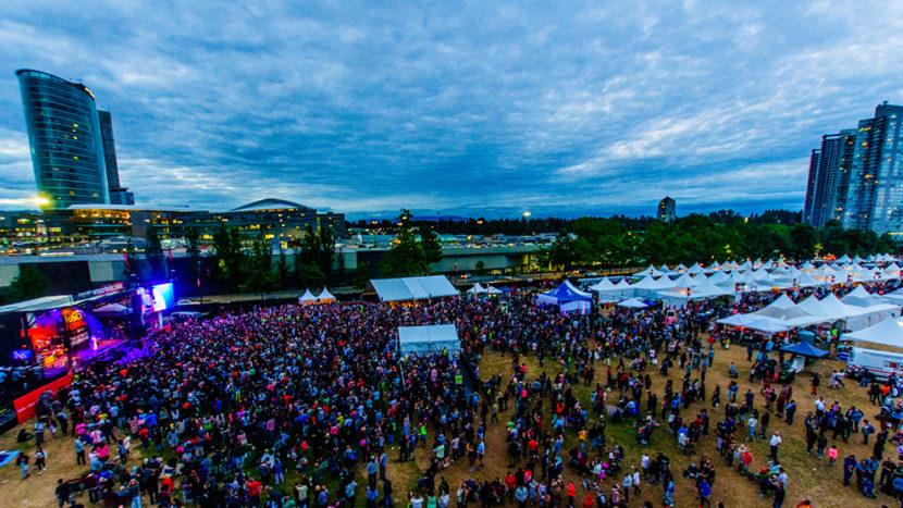 Русский дом на Фьюжен фестивале в Сюррее 21-22 июля 2018 года