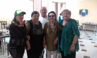 В западногрузинском городе Цхалтубо приняли пожилых и нуждающихся в поддержке российских соотечественников со всей Грузии
