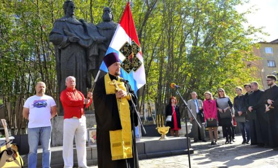 В Мурманске стартовал Славянский ход Мурман-Балканы