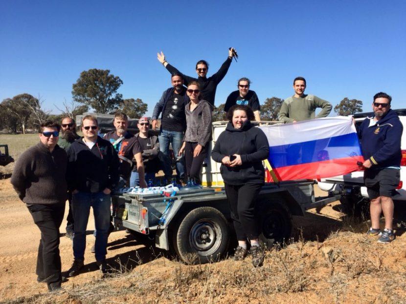 Русские сиднейцы помогают фермерам