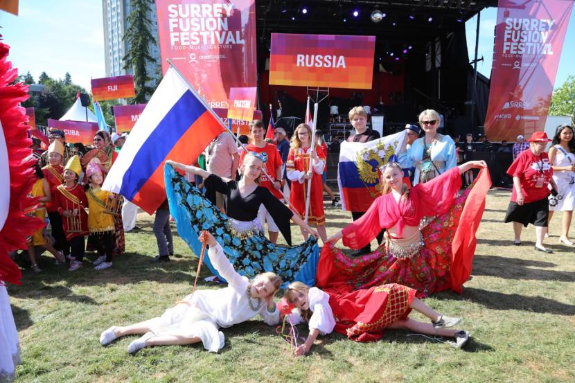 Русская душа на Фьюжен Фестивале-2018 в Британской Колумбии