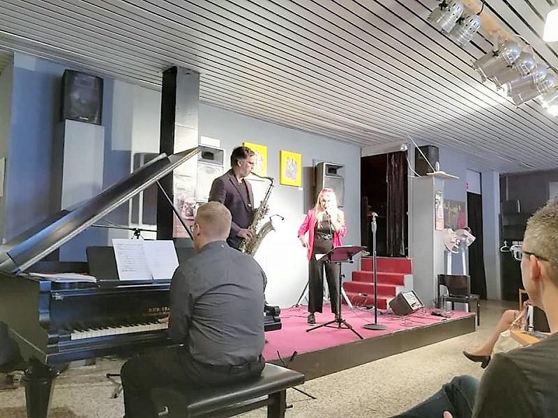 Джаз с русской душой и поэзия на двух языках звучали в Ганновере