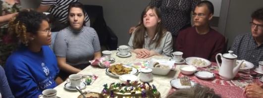 В Русском доме Торонто прошла встреча со студентами канадского университета