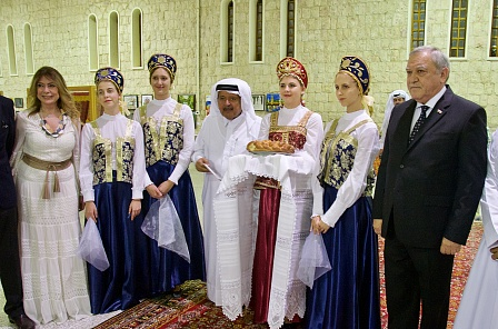 Фестиваль русской культуры провел КСОРС Катара