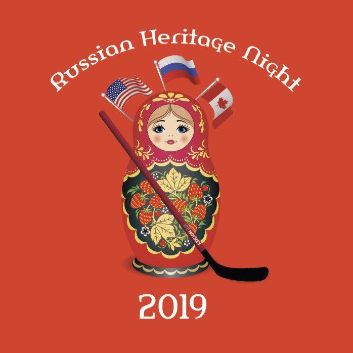 «Russian Heritage Night» – Ночи русского наследия в Канаде и США объединят поклонников спорта