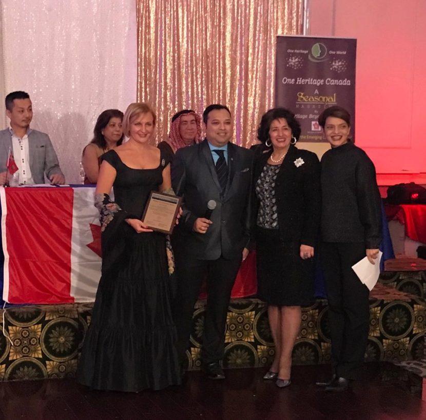 Светлана Руфанова: «Служить обществу – привилегия». Гала-церемония One Heritage Canada — 2018