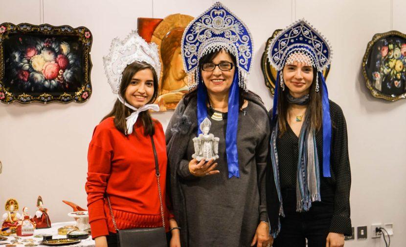 В Лондоне открылась выставка изделий русских художественных промыслов и ремёсел