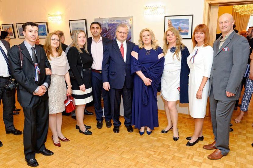 B Посольстве России в Канаде прошел торжественный прием по случаю Дня России