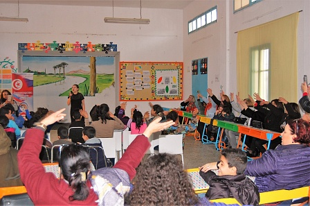 «Валенки» и «Калинка-малинка» в Тунисе