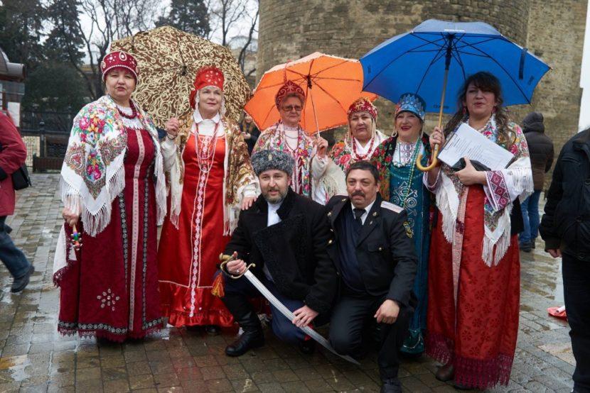 Празднование Масленицы в Баку при поддержке русской общины становится традицией
