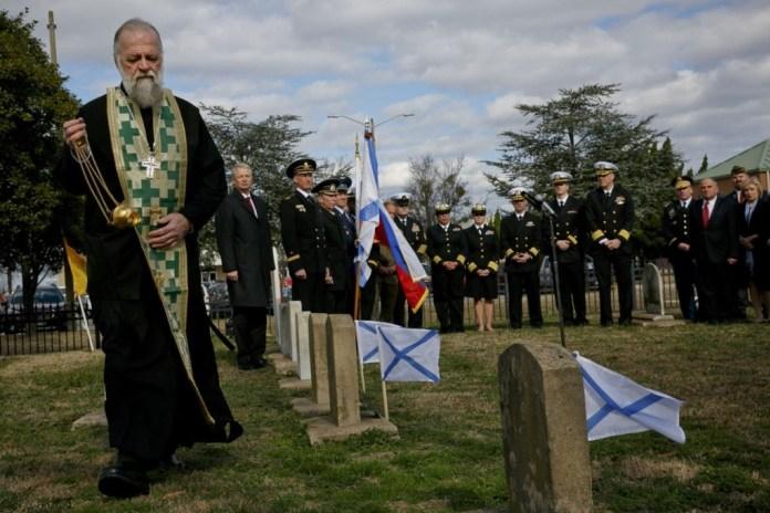 Память русских моряков почтили в американском штате Вирджиния