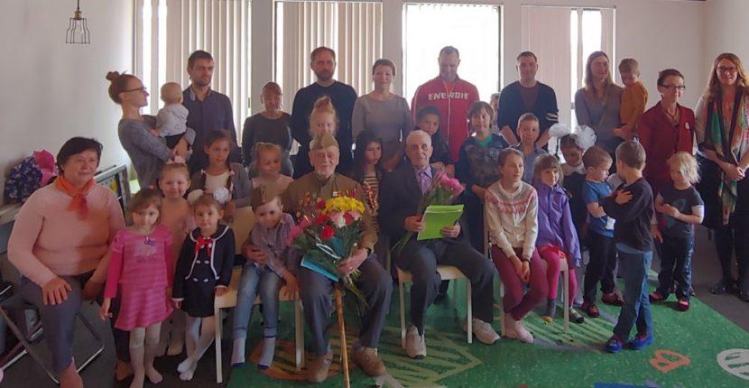Концерт для ветеранов в честь Дня Победы прошел в школе «Эрудит»