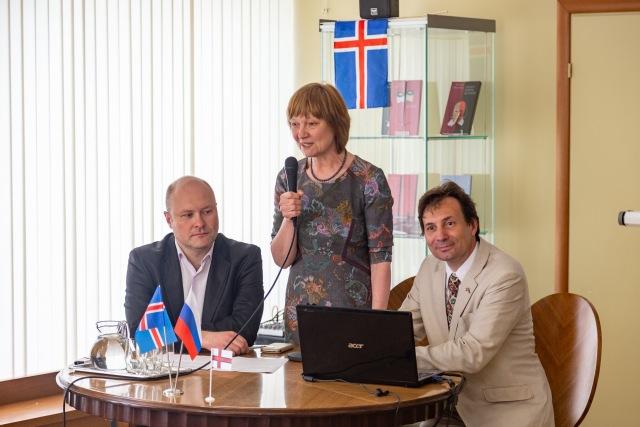 """Исландия, Россия и Фарерские острова взаимодействовали на конференции, организованной НП """"ОДРИ"""""""