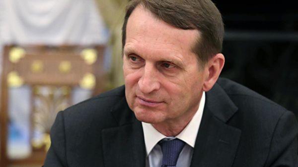 Нарышкин рассказал о борьбе США с акцией «Бессмертный полк»