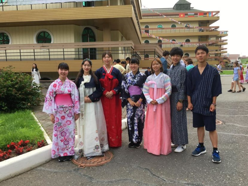 Дети соотечественников из Южной Кореи побывали в ВДЦ «ОКЕАН» во Владивостоке