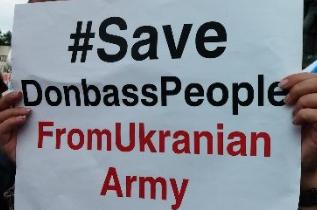 Прорыв информационной блокады в Северной Америке. Митинг в поддержку народа Донбасса