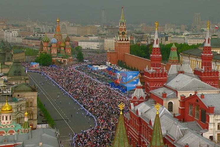 Международная сцена «Бессмертного полка» в Москве приглашает участников из Канады