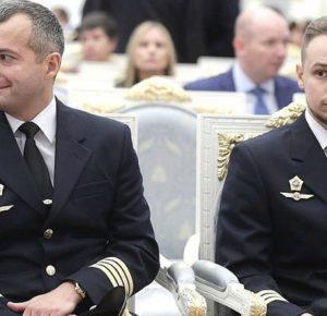 Пилоты - Герои России получили сегодня свои награды в Кремле