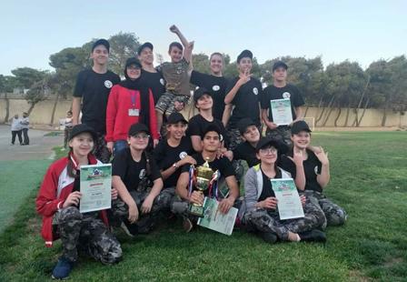 В Иордании дети приняли участие в «Зарнице 2019»