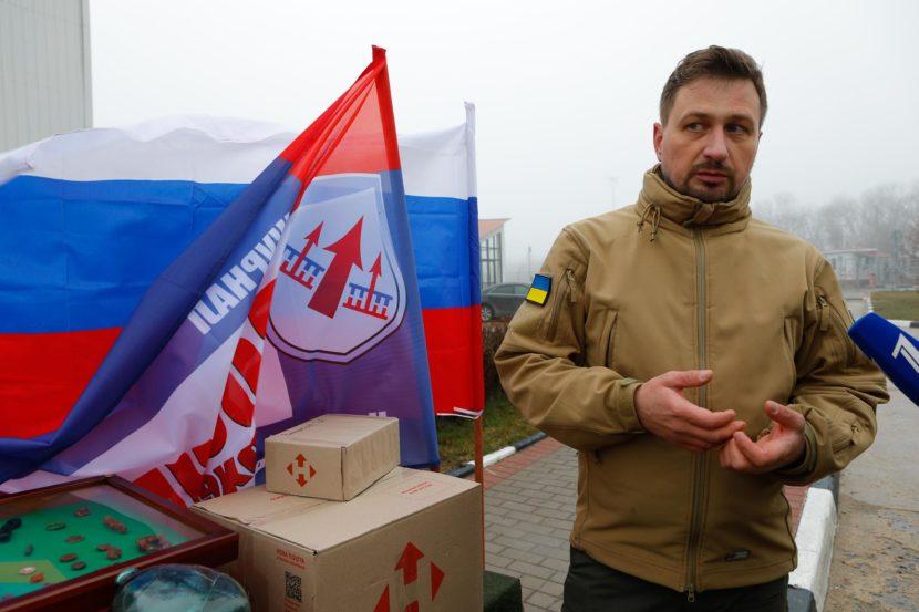 На границе Украины с Россией состоялась передача останков солдат времен Великой Отечественной войны