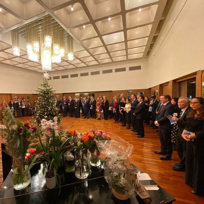 Предновогодние выставки русской культуры прошли в консульстве в Гетеборге