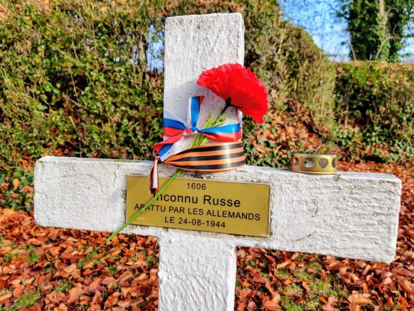 В Бельгии соотечественники почтили память Неизвестного солдата