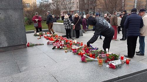 В Чехии состоялись демонстрации в поддержку и против демонтажа памятника Коневу