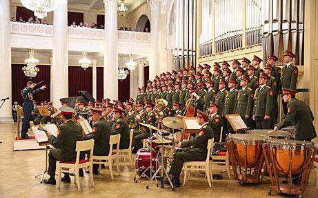 Хор Красной Армии — один концерт вместо сотни дипломатов