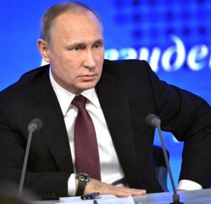 Ежегодная пресс-конференция Владимира Путина пройдет 19 декабря 2019 года