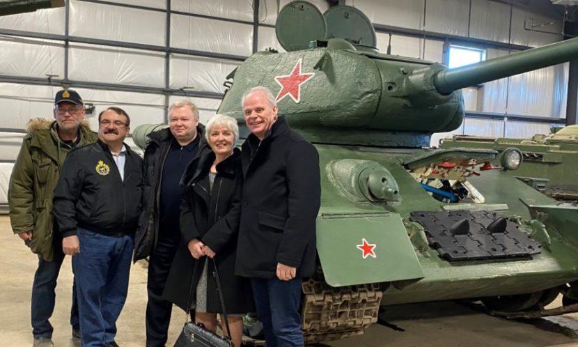 Канадский музей пополнил коллекцию экспонатов танком Победы