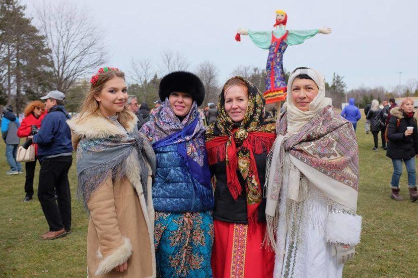 Весь русский народ веселился на Масленице в Торонто