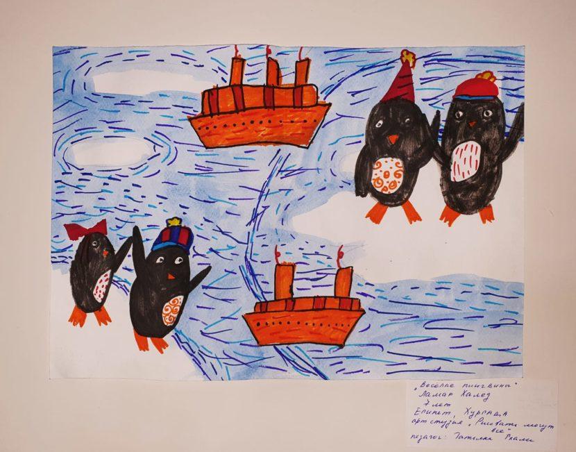Прими участие: Международный конкурс рисунка «2020 год – год 200-летия открытия Антарктиды»