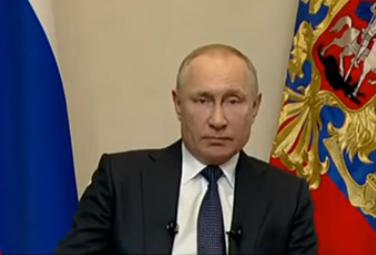 Обращение Президента России к гражданам в связи с распространением коронавируса