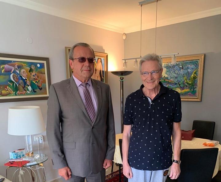 В Израиле поздравили Давида Тухманова с 80-летием