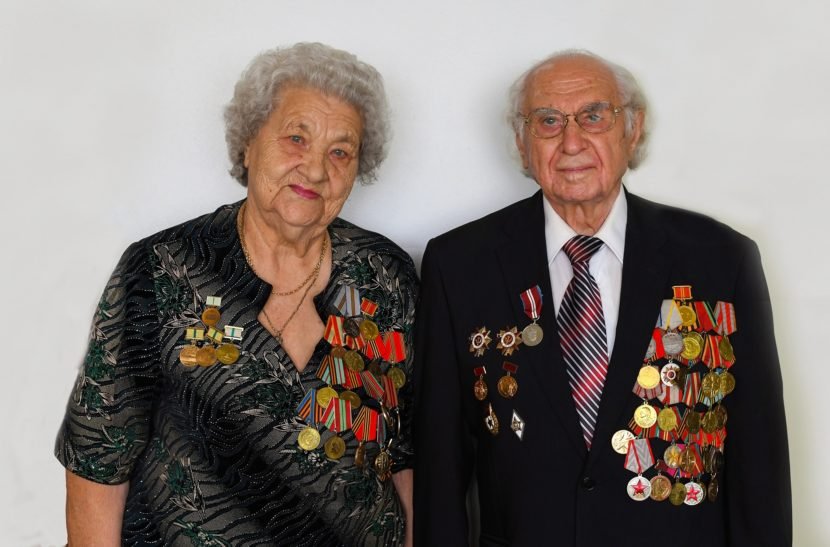 70 лет вместе по жизни. Ветераны в Канаде отметили юбилейную свадьбу