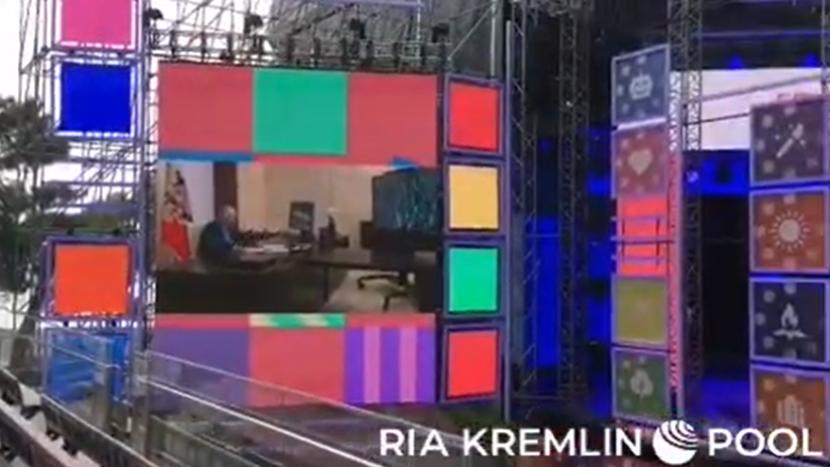 Встреча президента России с участниками финала Всероссийского конкурса для школьников «Большая перемена», Артек