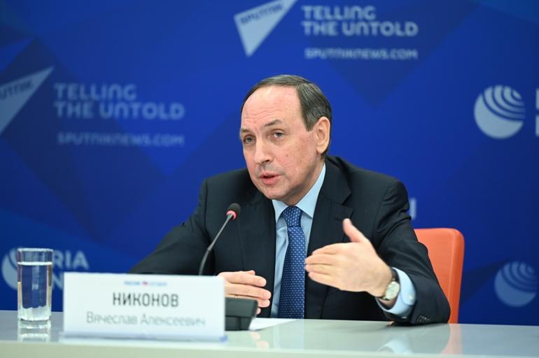 Онлайн-брифинг Вячеслава Никонова: презентация книг, вышедших в период пандемии