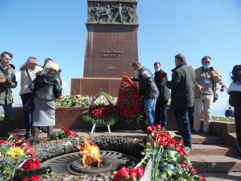 В Одессе почтили память освободителей от фашизма