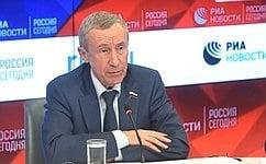 Сенатор презентовал интернет-платформу для консолидации русского зарубежья