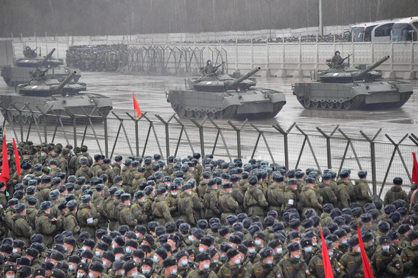 В Москве проходят репетиции Парада Победы — 2021