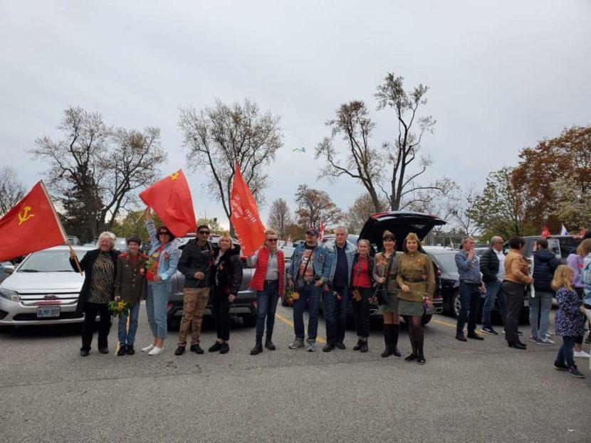 Автопробег в День Победы прошел в Торонто