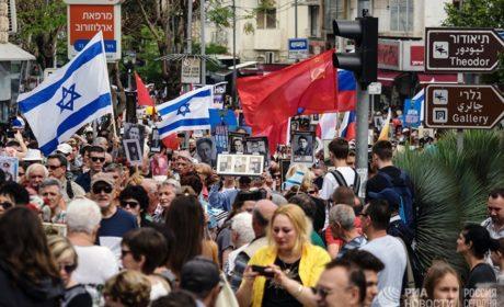 Бессмертный полк в Израиле — от крайнего Севера до крайнего Юга