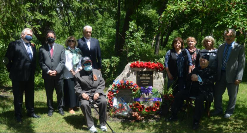 В Канаде в День памяти и скорби отдали дань советскому солдату