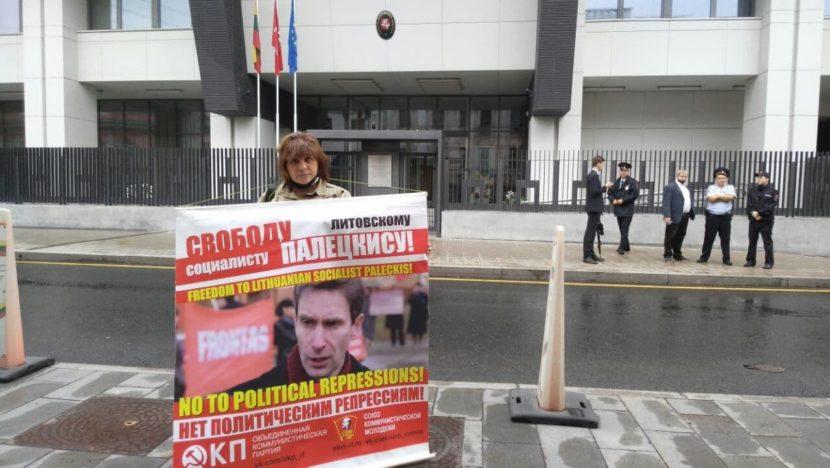 Кандидат в депутаты Госдумы РФ встала на защиту литовского экс-депутата Альгирдаса Палецкиса