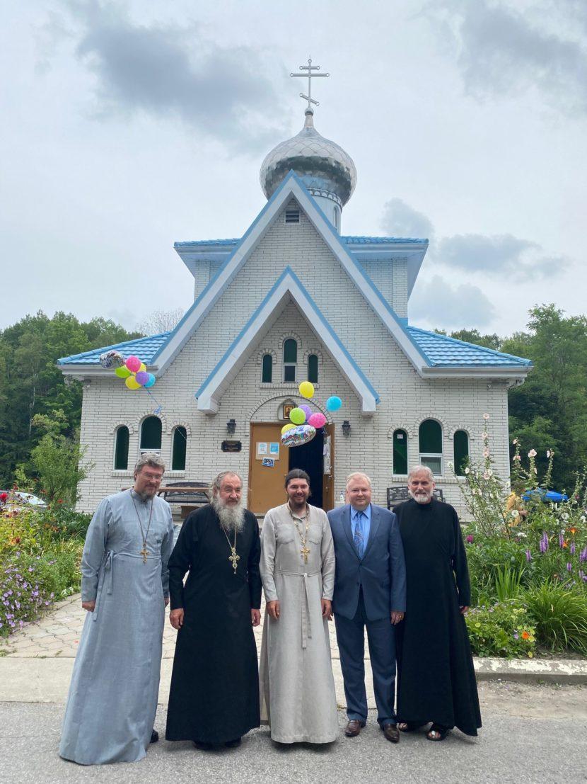 В Канаде почтили память последнего российского императора у Храма Смоленской Иконы Божией Матери